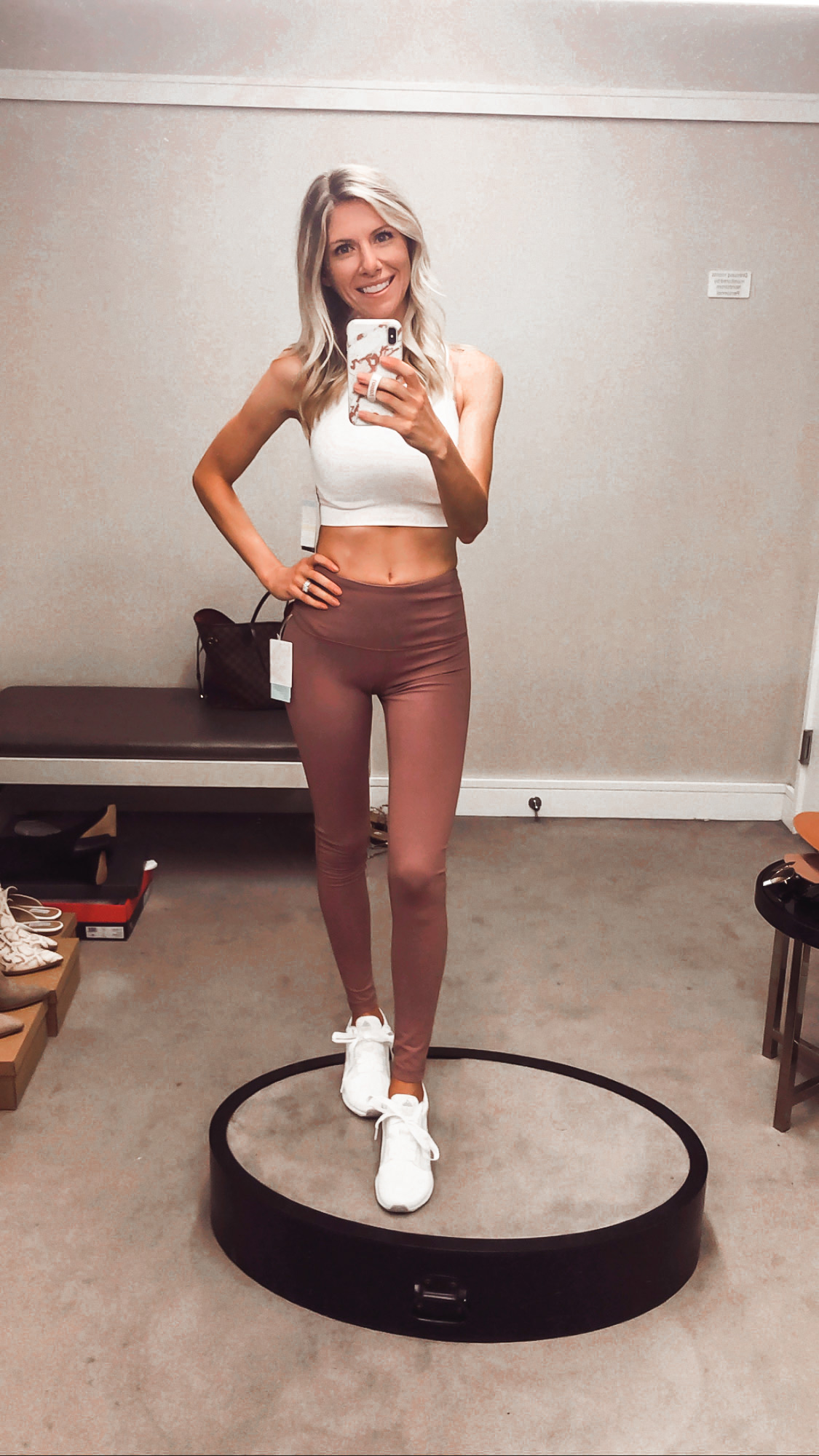 zella leggings and sports bra