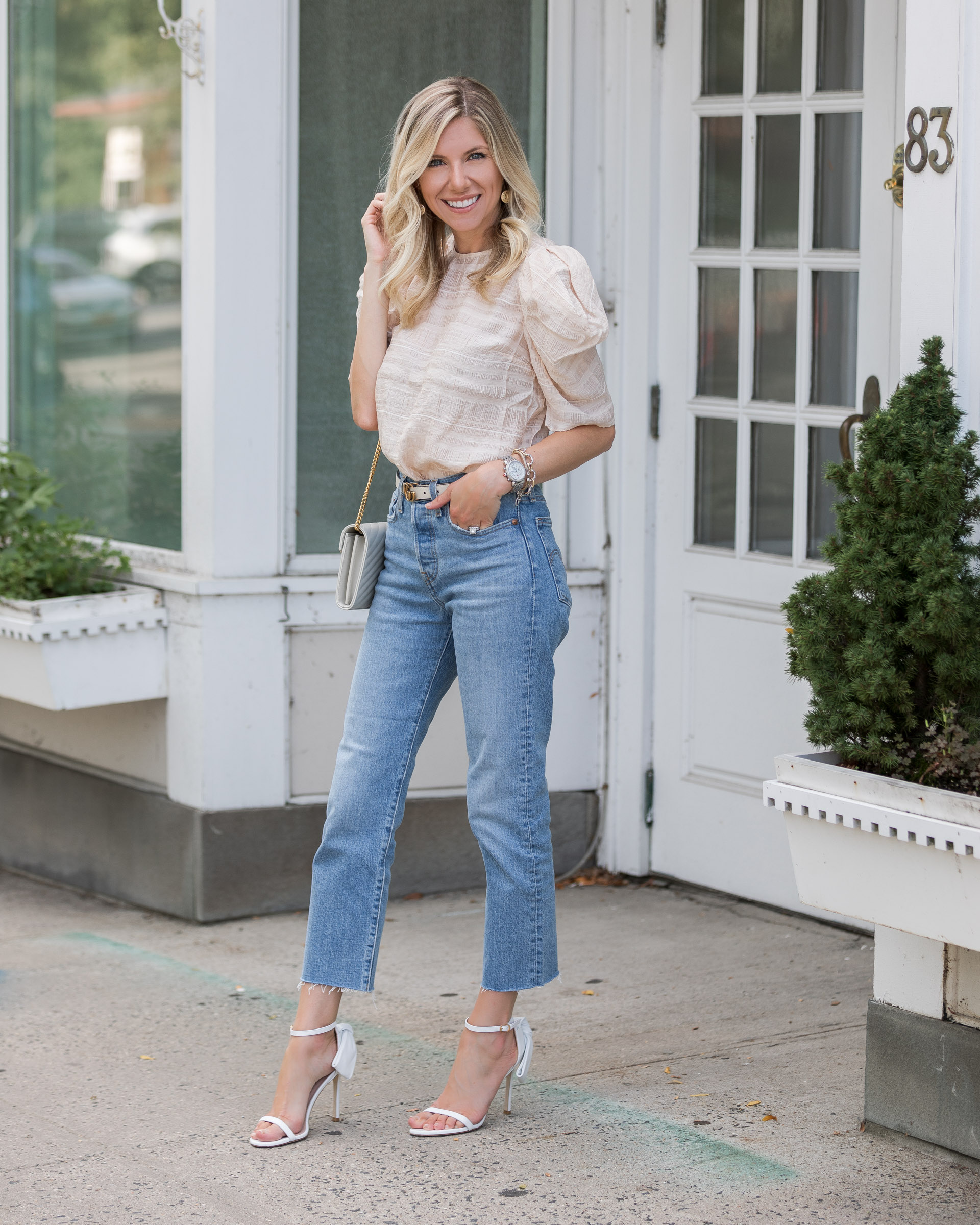 blush-puff-sleeve-top-from-express-the-glamorous-gal