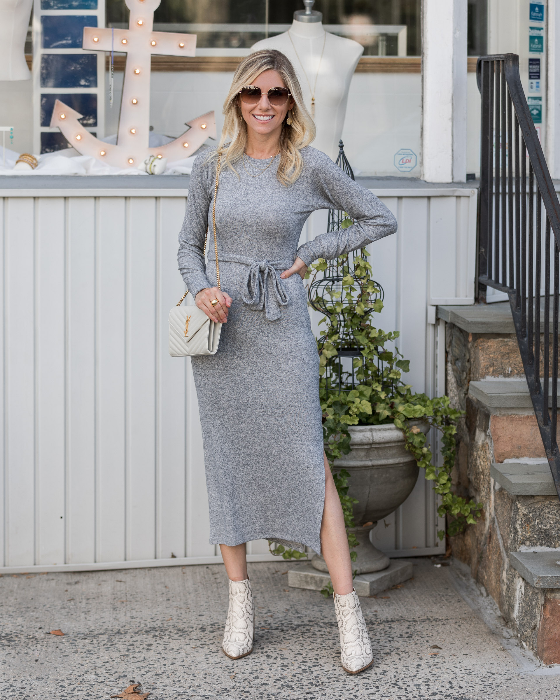 gray-midi-sweater-dress-the-glamorous-gal
