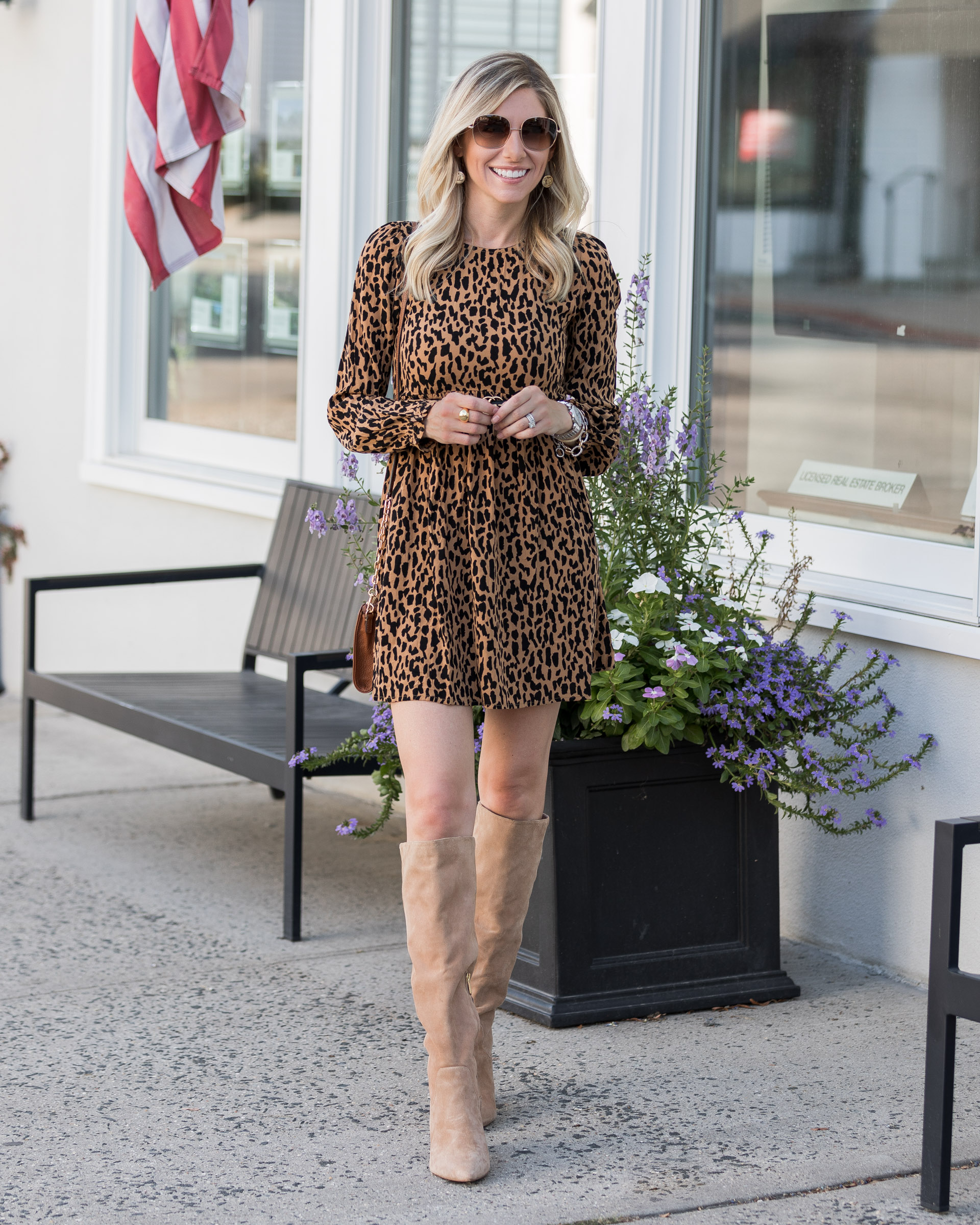 how-to-wear-boots-with-a-dress-the-glamorous-gal