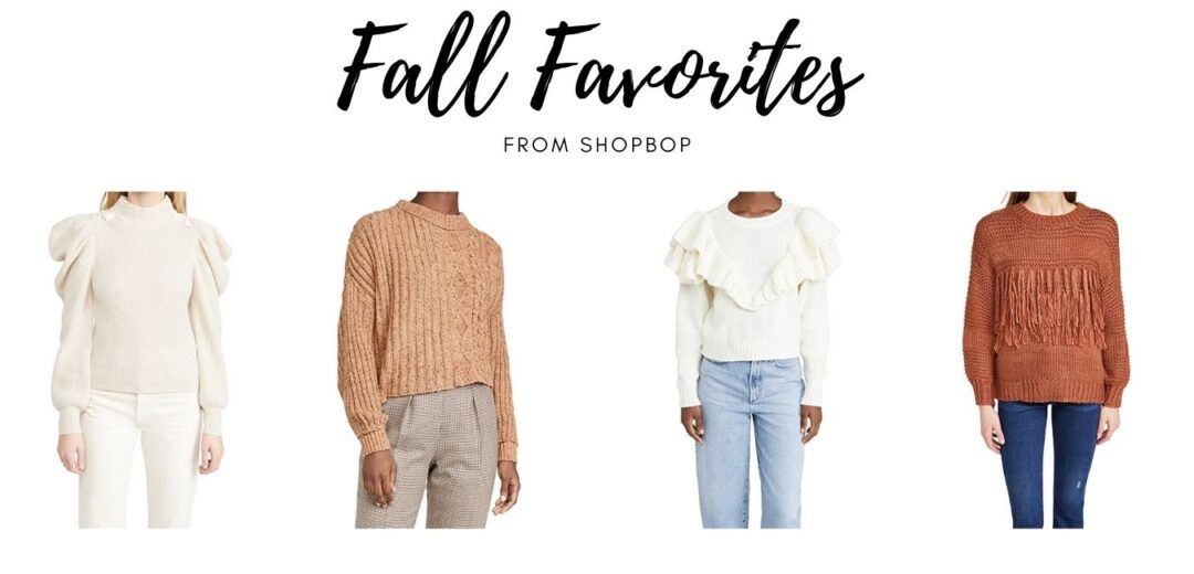 Shopbop Fall Favorites