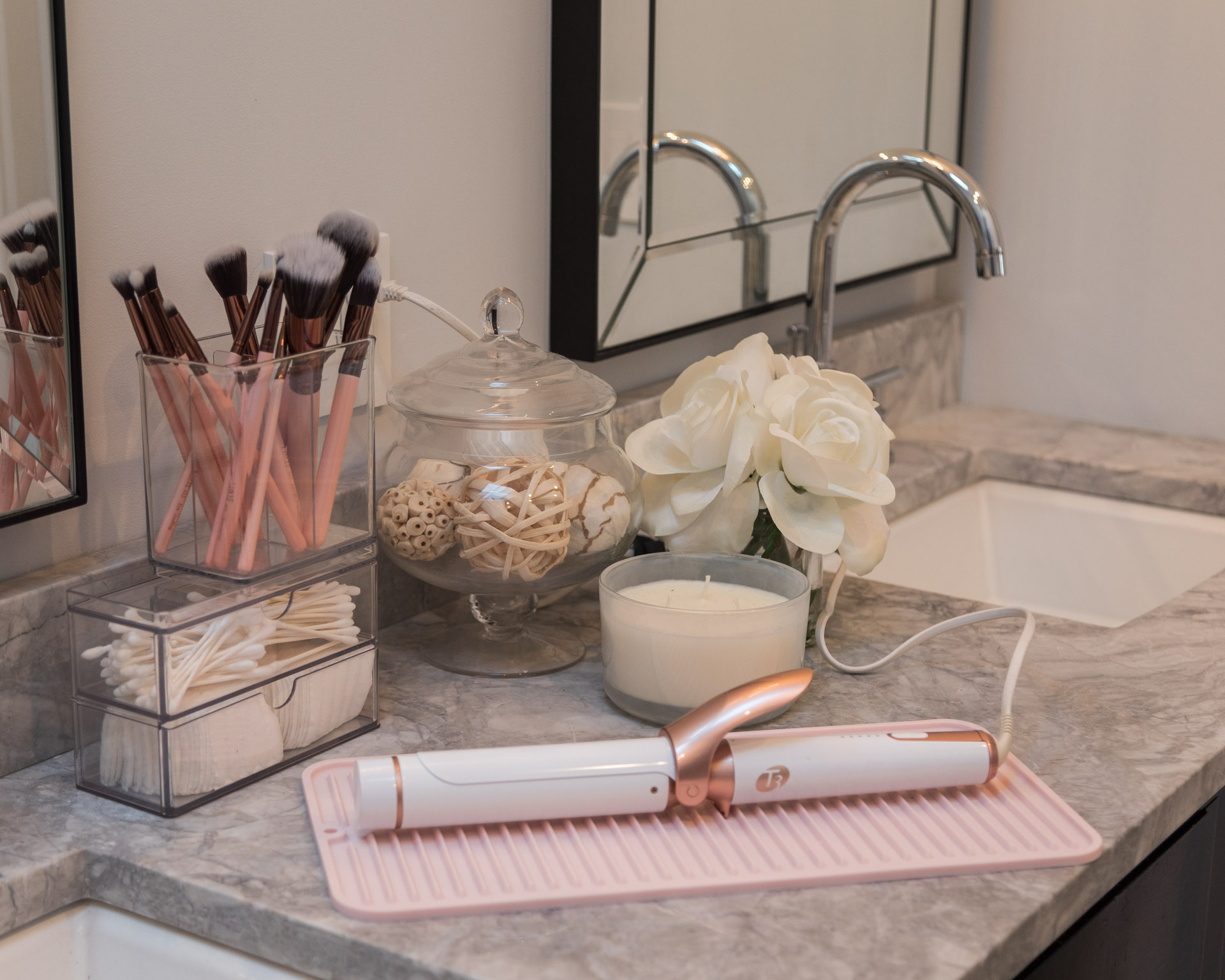 organized-bathroom-storage-with-the-container-store-the-glamorous-gal