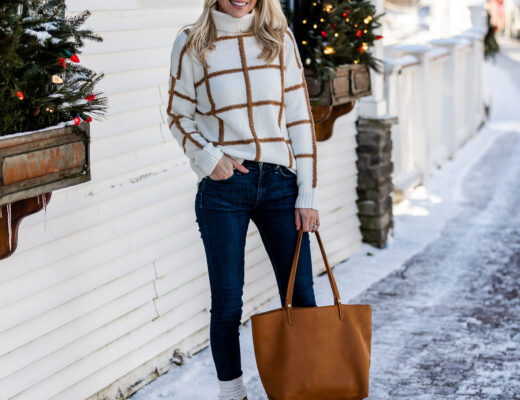 white-and-camel-windowpane-sweater-from-versona-the-glamorous-gal