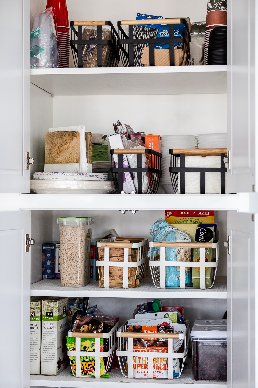 basket-storage-for-pantry-with-container-store-The-Glamorous-Gal