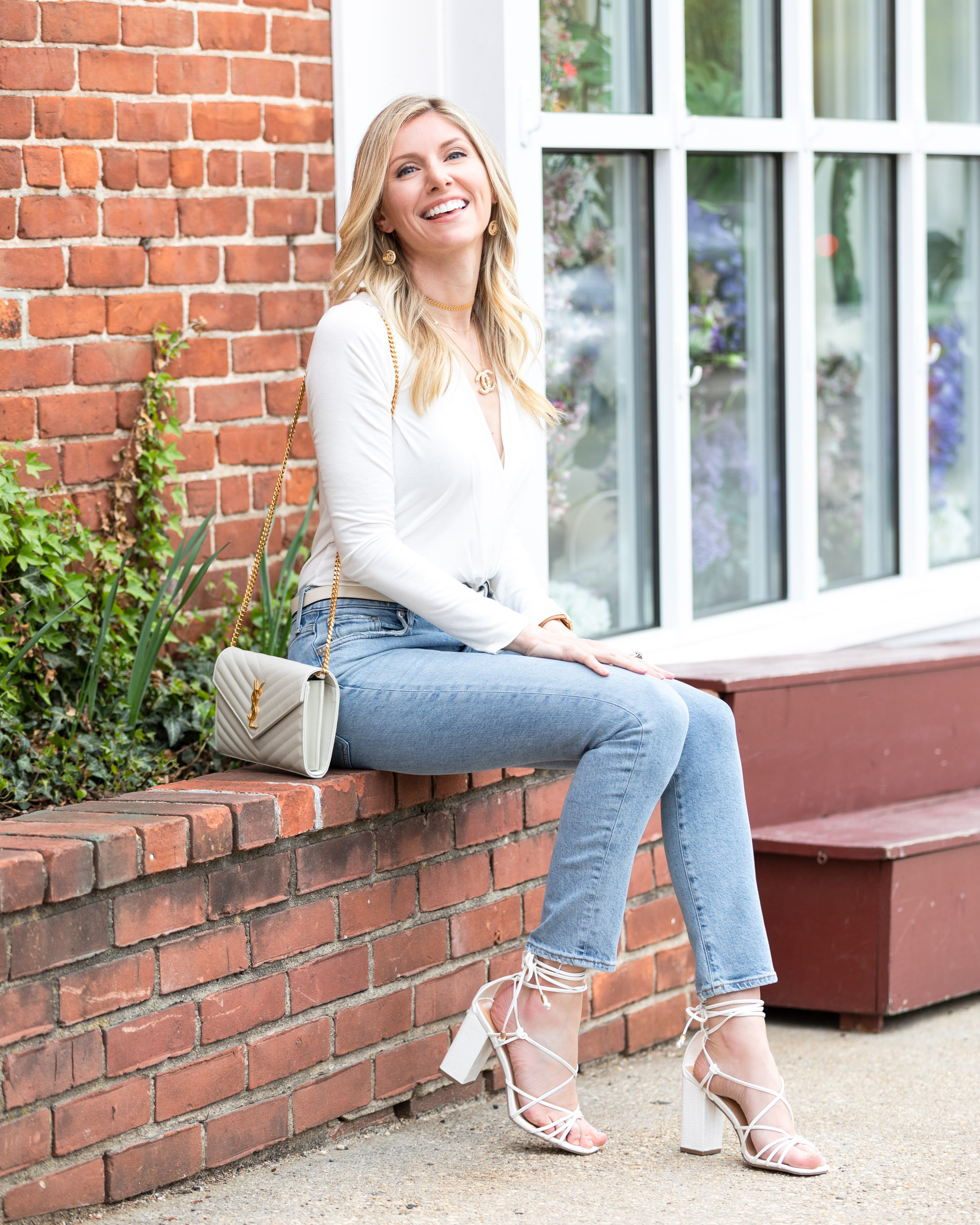 chic-spring-look-with-white-block-heels-the-glamorous-gal
