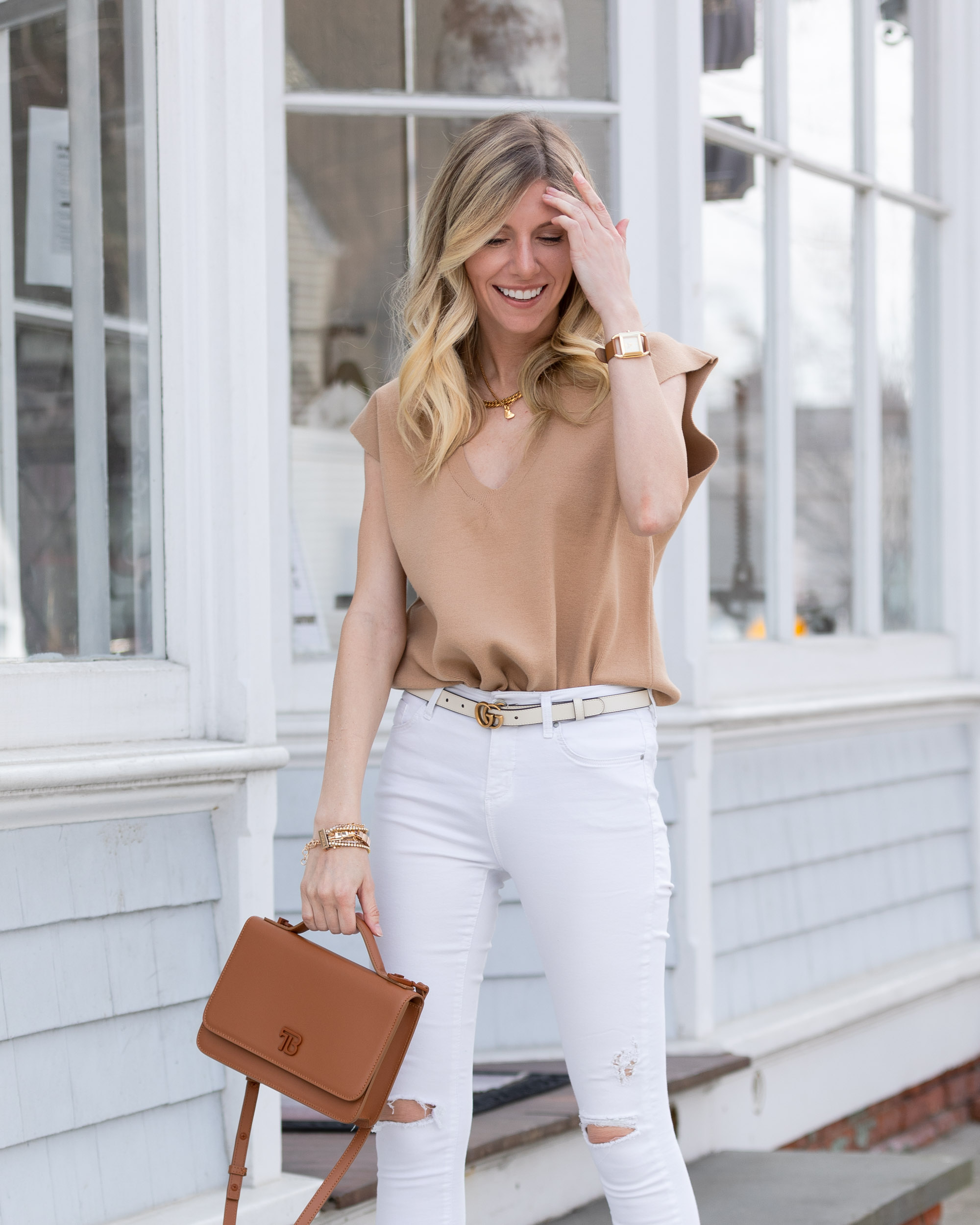 spring-transition-look-with-camel-tank-the-glamorous-gal