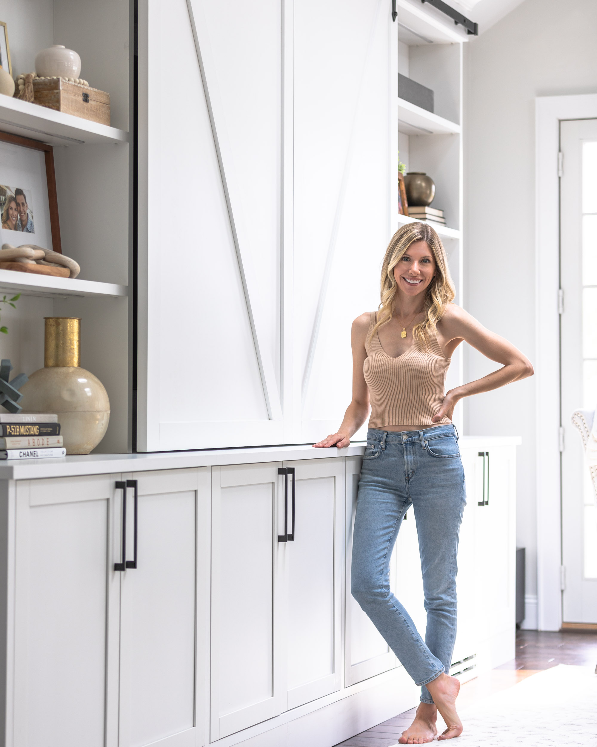 california-closets-entertainment-center-with-barn-doors-the-glamorous-gal