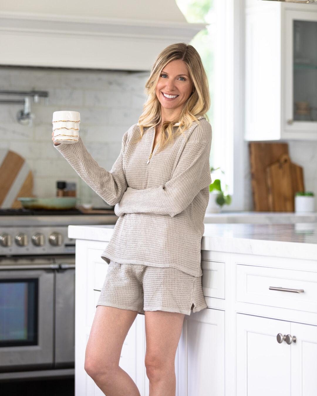 largo-drive-comfy-waffle-set-shorts-the-glamorous-gal